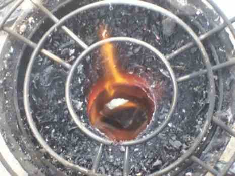 Как сделать переносную печь на опилках