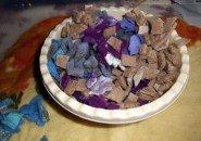 Мозаичное панно в технике «лоскутного валяния»