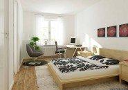 Два в одном: спальня-кабинет
