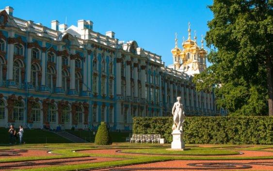 Яркий сентябрь в Пушкине и окрестностях