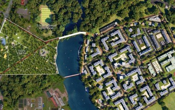 В парке возле ЖК RiverPark появится новая спортивная площадка