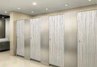 Перегородки для общественных туалетов