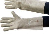 Перчатки для работников электрической промышленности. Материал и размеры