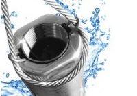 Трос из нержавеющей стали – надежная страховка для погружного насоса